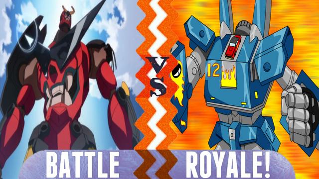 File:Battle Royale Gurren Lagann vs Megas XLR.png