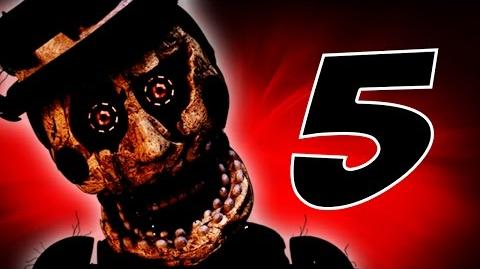 TRAPPED! Easter Eggs & Secrets! The Return to Freddy's 5