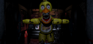 Chica in the office