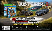 JC3 EB exclusive day one edition
