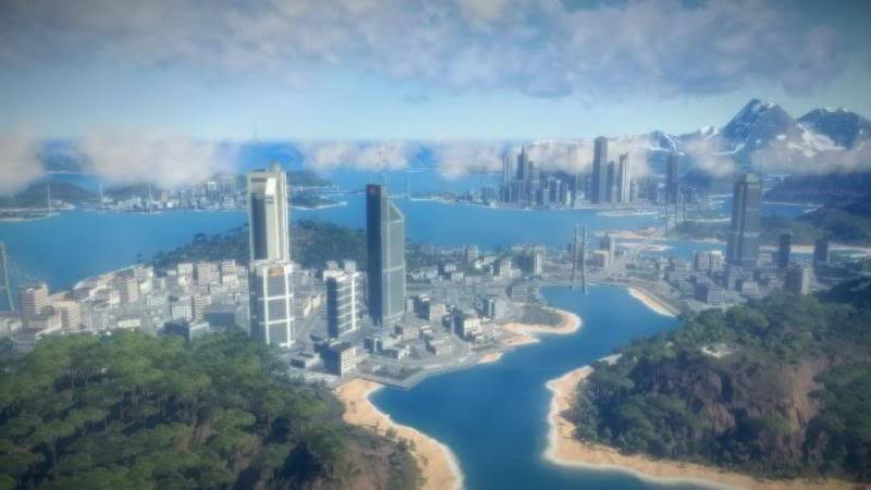 how to open map in just cause 2