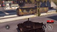 Weapons Shipment Yard train