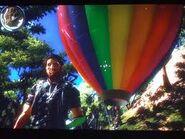 Hot air balloon and Rico