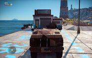Military Urga Szturm 63A Back