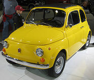 1970 Fiat 500 L