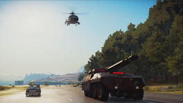 Imperator Bavarium Tank and Stria Cucciola (pre-release promotional screenshot)