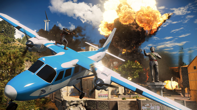 File:JC3 blue plane and explosion.png