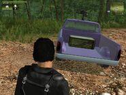 Shimizu Tumbleweed, box with coca, rear inside view