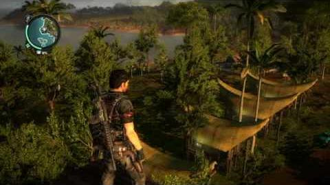 Just Cause 2- settlement completion- Pekan Air Hangat