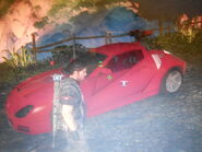 Red Garret Traver-Z race