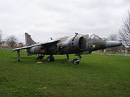 Harrier jet small icon
