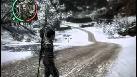 Just Cause 2 - Kem Gunung Belakang Patah - military base
