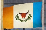 JC3 Rebel flag (on a vertical flag pole)
