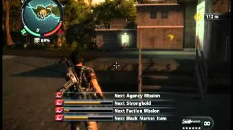 Just Cause 2 - Pulau Berendam - military harbor