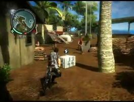 Just Cause 2 - Kepulauan Pelaut Beta - communication outpost 07