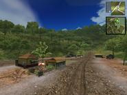 A -Unmarked village- on -Provincia de lo Guerreros-.