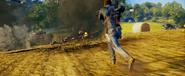 JC3 battle in field