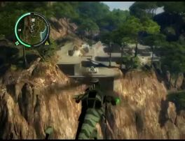 Just Cause 2 - Kem General Yahya - military base 001