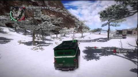 Just Cause 2 - Faction Mission - Jumping Parole