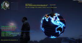 Panays globe in JC2 MP
