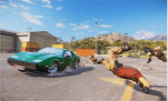 JC3 green sports car