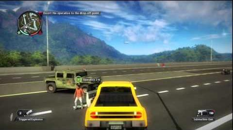 Just Cause 2 - Faction Mission - Bridging New Contacts