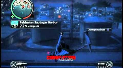 Just Cause 2 - Pelabuhan Saudagar Harbor - faction stronghold