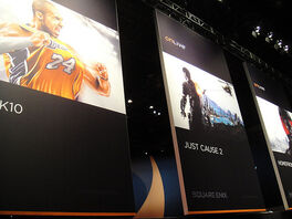 E3 2010 ONLIVE banners