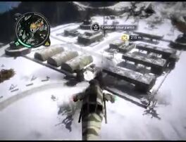 Just Cause 2 - Kem Gunung Raya - military base 0005