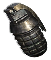 Fragmentation Grenade (JC2 Black Market)