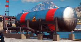 JC3 Fuel Tank horizontal