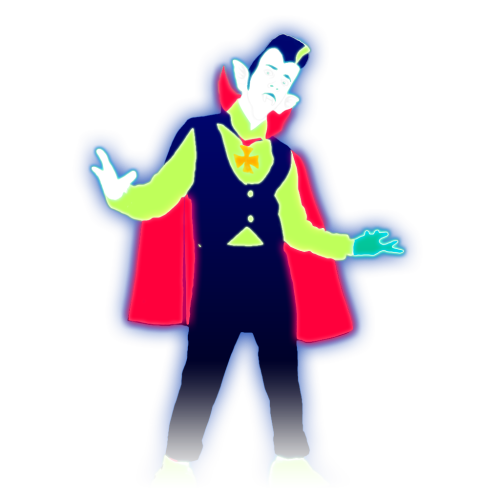 image halloweenquat coach 3 bigpng just dance wiki fandom powered by wikia - Just Dance 3 Halloween