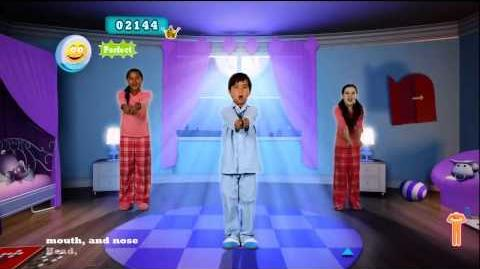 Just Dance Kids 2 Head, Shoulders, Knees & Toes with Lyrics - Time to dance !