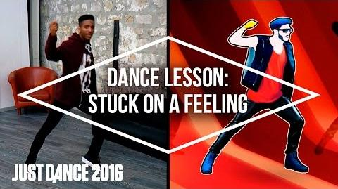 Dance Lessons with Just Dance 2016- Stuck on a Feeling by Prince Royce