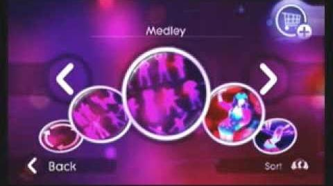 Just Dance 2 Menu