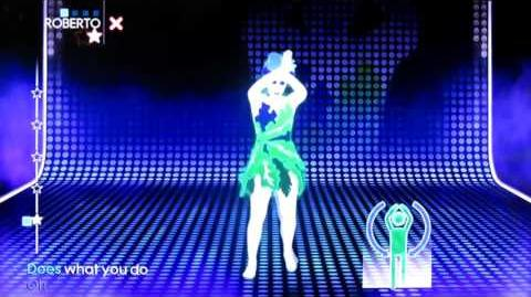 Just Dance 3 BETA Dancer - Jungle Drum - Emiliana Torrini