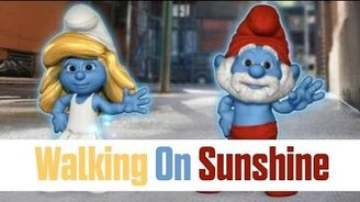 Walking On Sunshine - Smurfs Dance Party