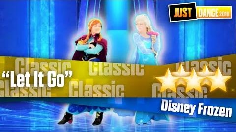 """Let It Go"" - Disney Frozen Just Dance Unlimited"