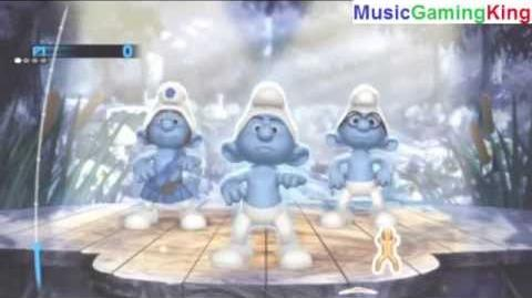 """The Smurfs Dance Party Gameplay - """"Living Color"""" - High Score Of 7,352 Points Achieved"""