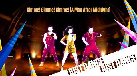 Just Dance Unlimited - Gimme! Gimme! Gimme! (A Man After Midnight) On Stage