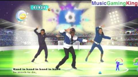 """Just Dance Kids 2 Gameplay - """"Hand In Hand"""" (Resolution Upscaled To 1080p)"""