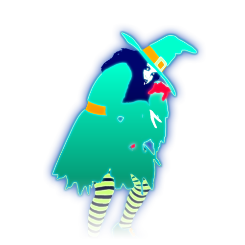 image halloweenquat coach 4 bigpng just dance wiki fandom powered by wikia - Just Dance 3 Halloween