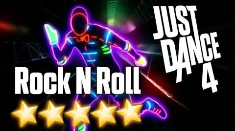 Just Dance 4 - Rock N' Roll (Will Take You To The Mountain)