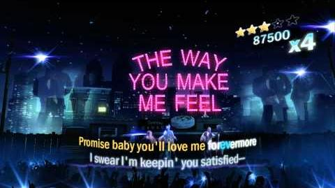 Michael Jackson The Experience - The Way You Make Me Feel - Vocal - 5 STARS