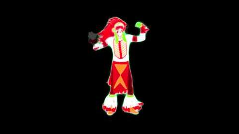 Just Dance 4 Instanbul Dance Mashup (Never used)