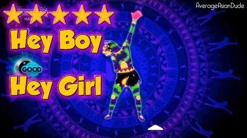 Just Dance 3 - Hey Boy Hey Girl - 5* Stars
