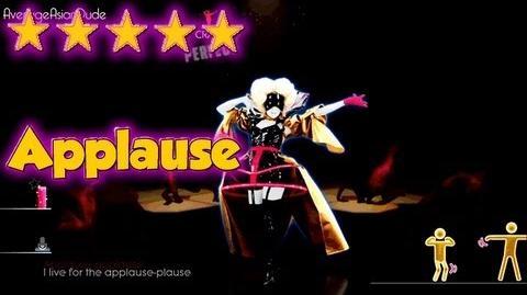 Just Dance 2014 - Applause - 5* Stars