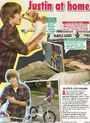 M magazine January February 2010 Justin at home