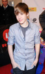 Justin at The Dome 53, red carpet