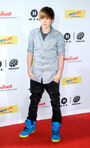 Justin Bieber at The Dome 53, red carpet